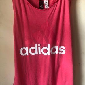 Adidas Pink Tank Top